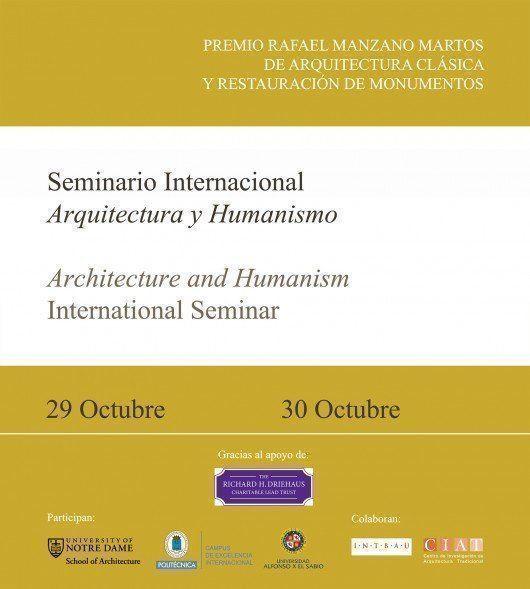 Seminario Internacional Arquitectura y Humanismo