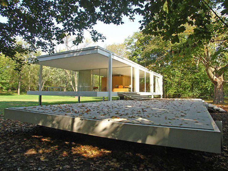 Casa Farnsworth, ícono de la Arquitectura Moderna