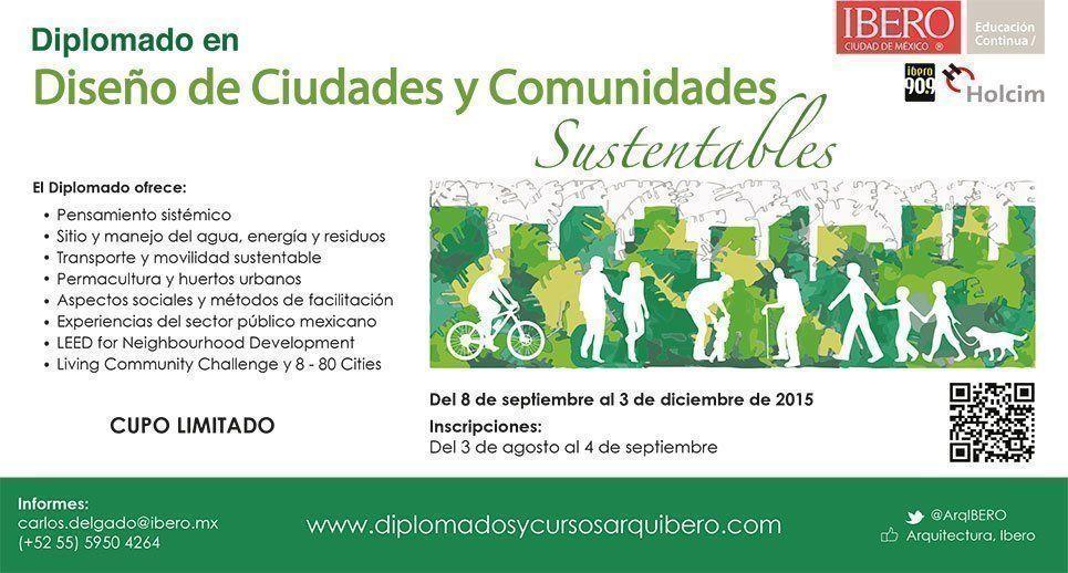 Diseño de Ciudades y Comunidades Sustentables