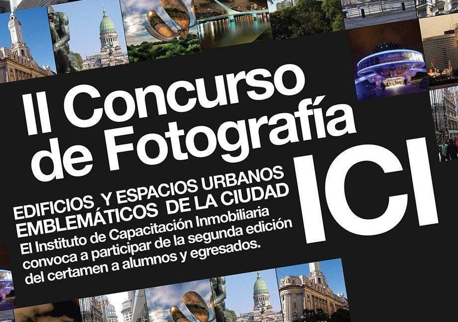 II Concurso fotográfico en el ICI