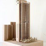Model photography, Construction images, and drawings: Courtesy Richard Meier & Partners Architects