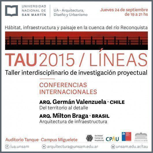 Conferencia Internacional TAU2015