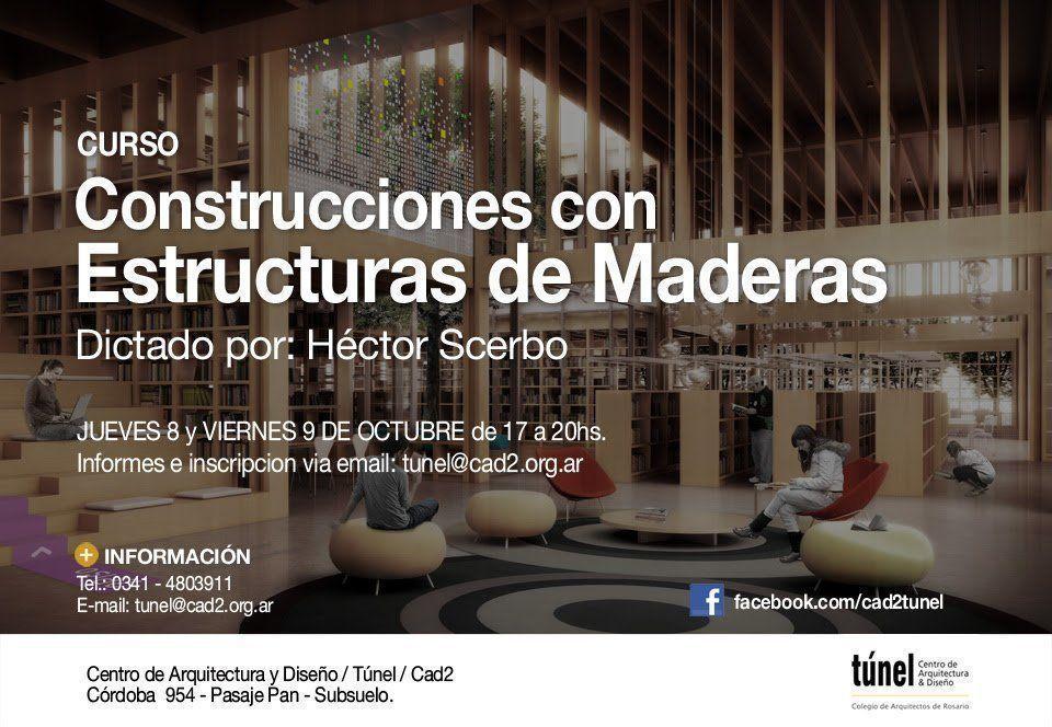 Curso: Construcciones con Estructuras de Madera, en Rosario
