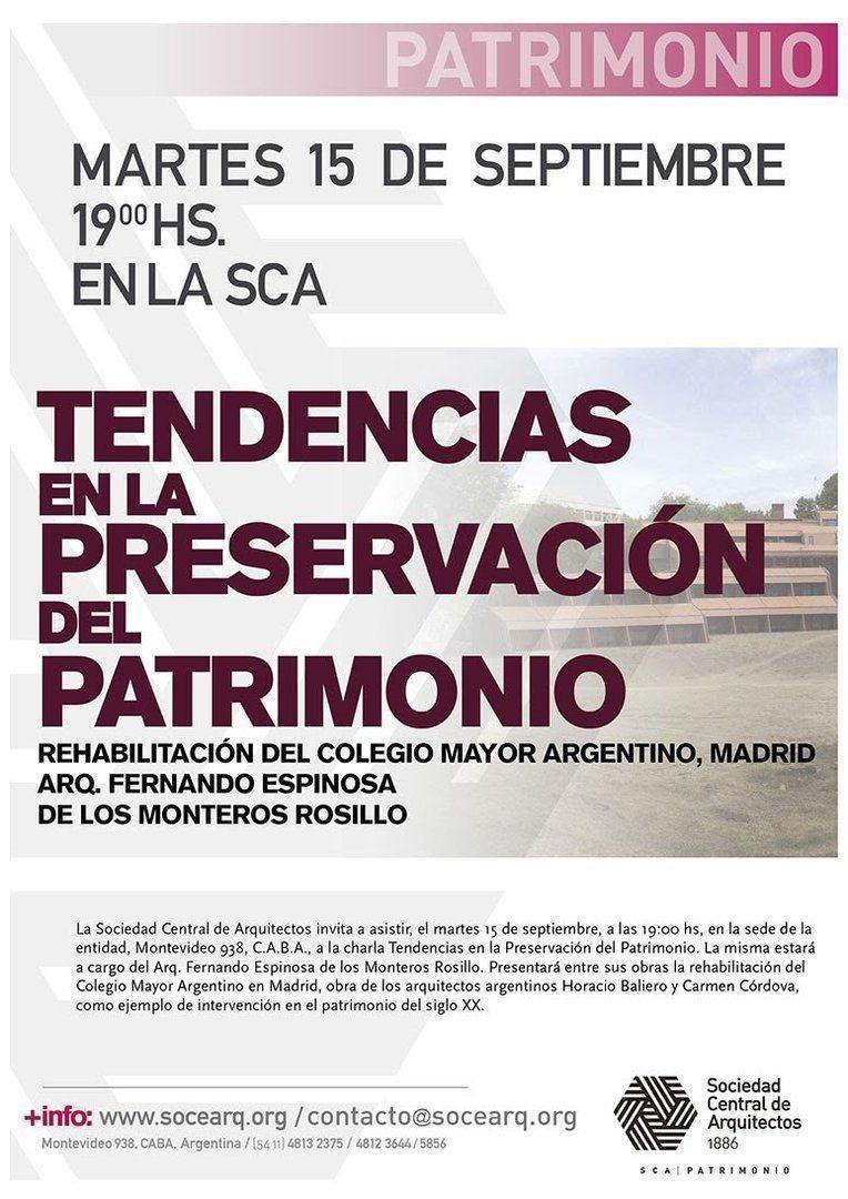 Tendencias en la Preservación del Patrimonio