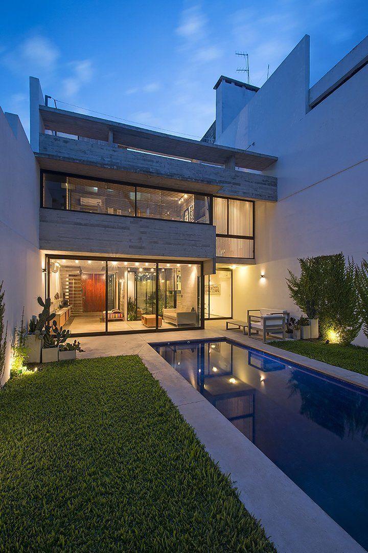2 casas conesa arqa for Fotos de casas modernas brasileiras