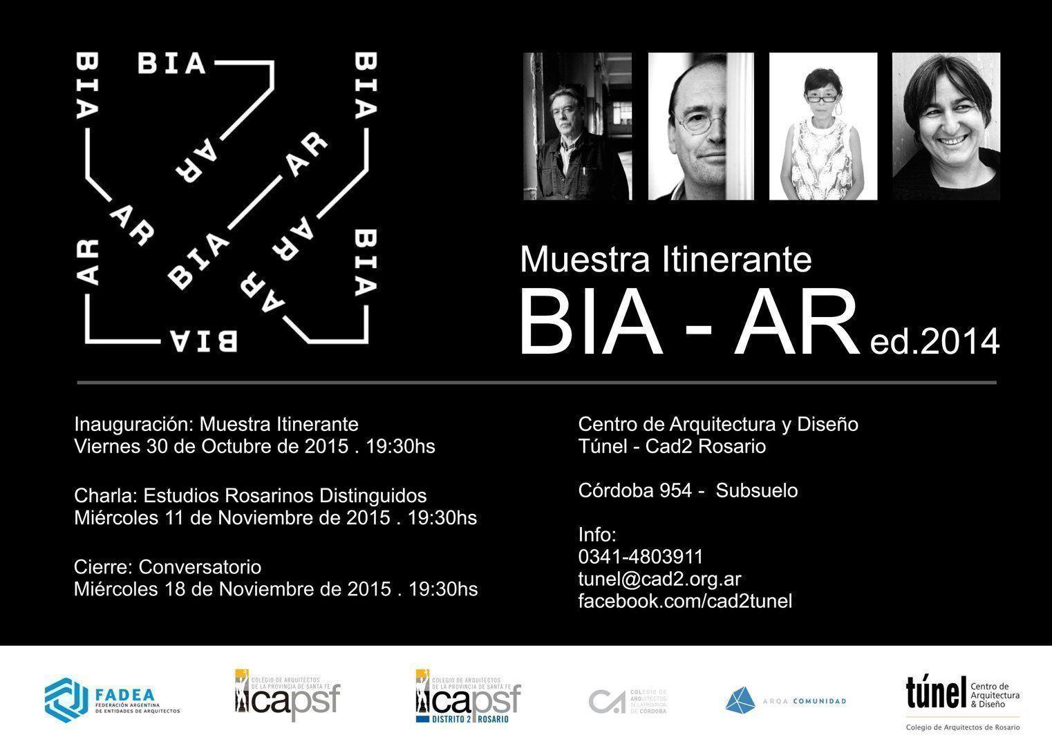 Muestra BIA-AR, en Rosario