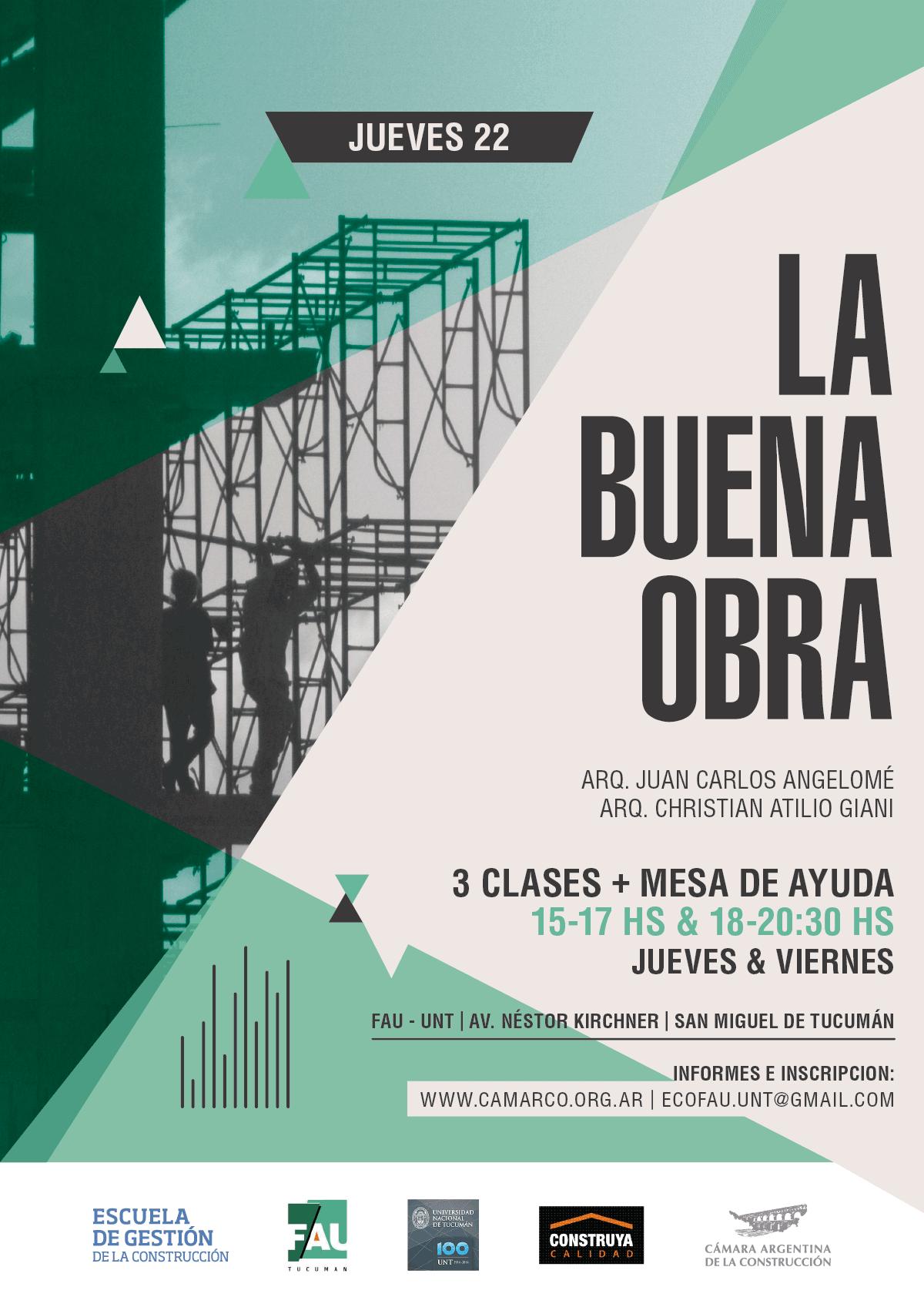 """Capacitación en Tucumán: """"La buena obra"""""""