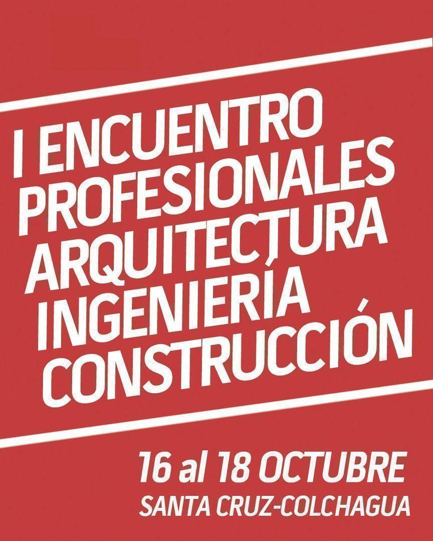 I Encuentro Profesionales de la Construcción