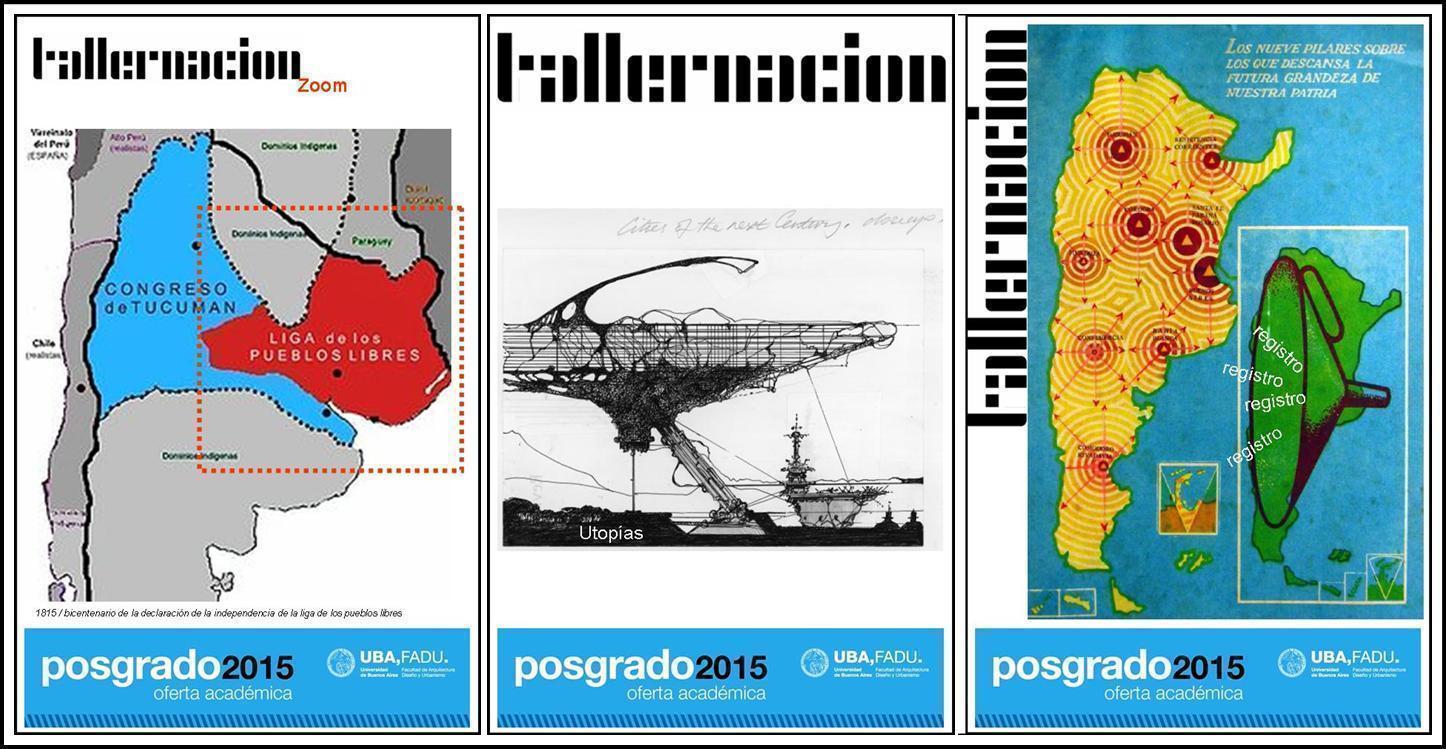 Proyecto Nación: Zoom+ Utopías + Registros