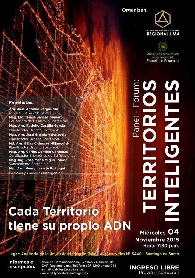 Panel Fórum Territorios Inteligentes: Cada territorio tiene su propio ADN