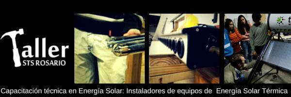 Capacitación técnica en Energía Solar: Instaladores de equipos de Energía Solar Térmica