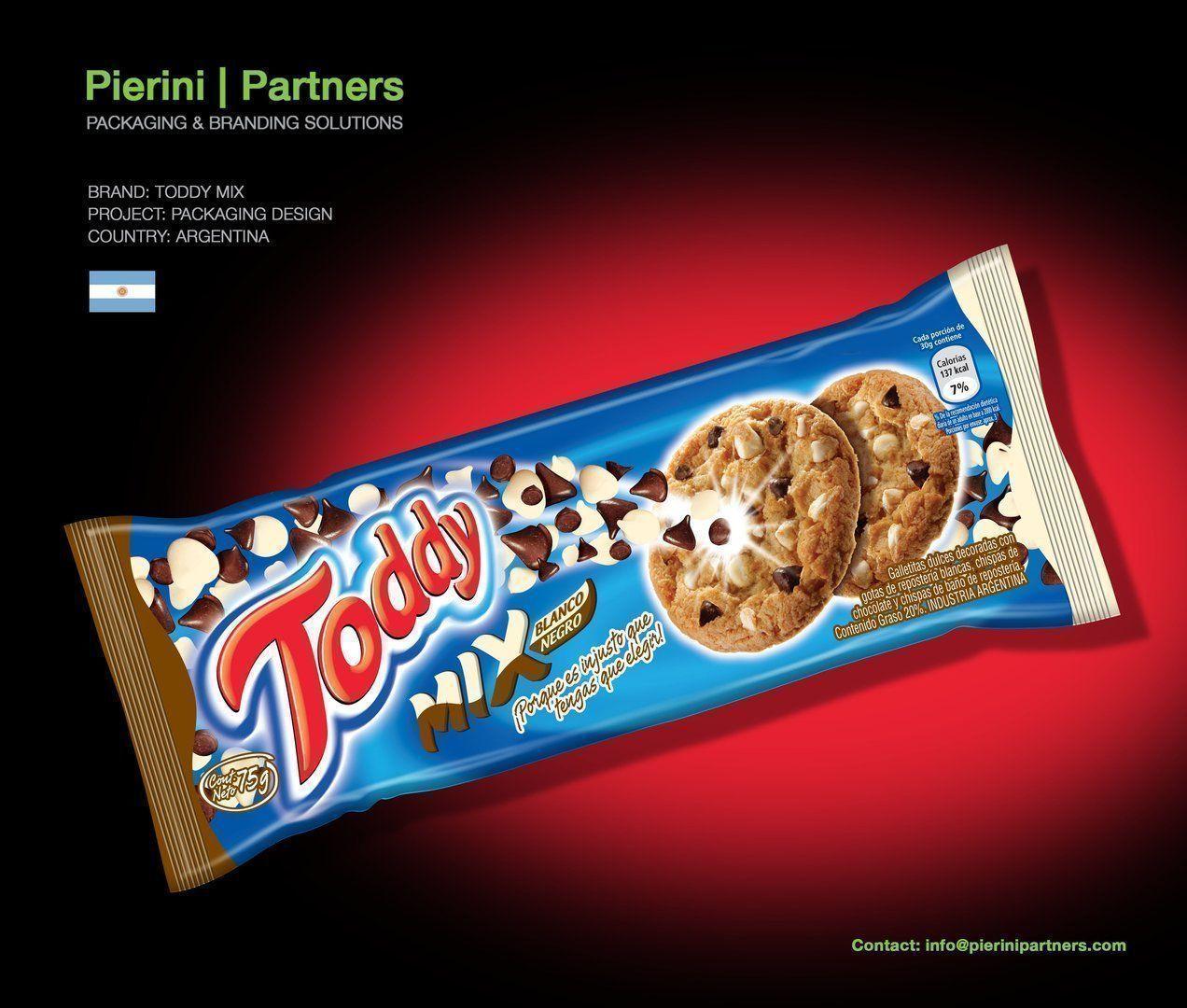 Toddy Mix, deliciosas y con el packaging creado por Pierini Partners