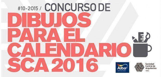 Concurso de Dibujos Calendario SCA 2016, ganadores