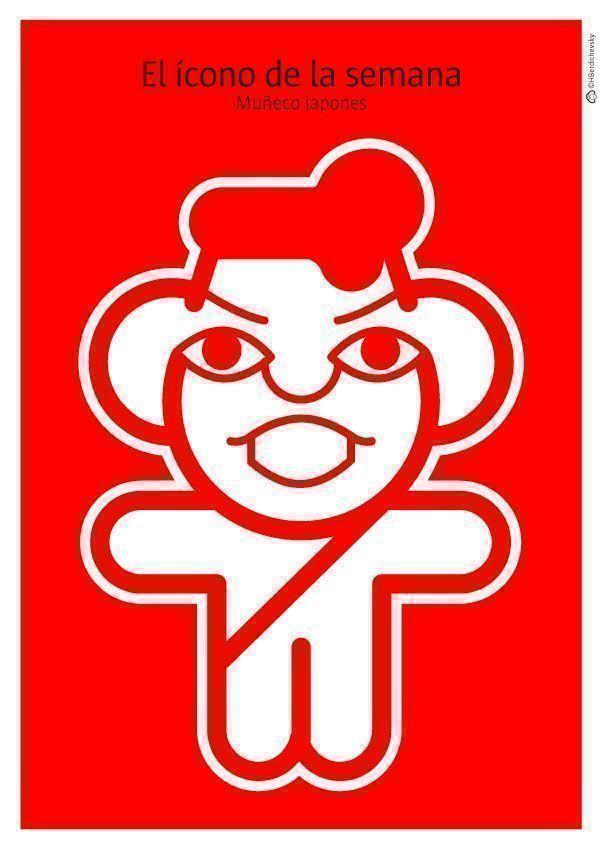 Muñeco Japonés, el ícono de la semana