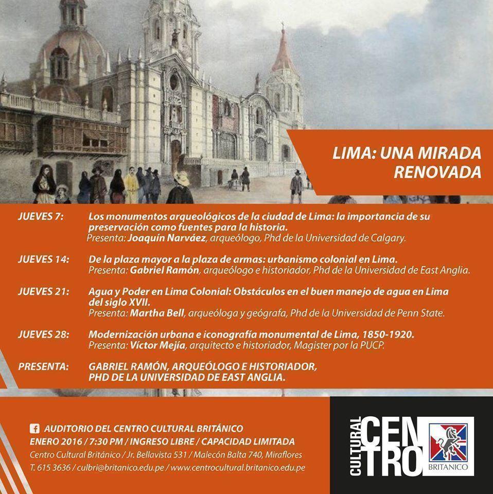 Lima: Una mirada renovada en el Centro Cultural Británico