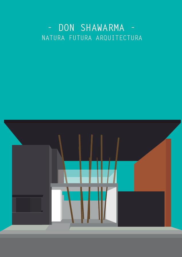 Arquitectura Ilustrada DON SHAWARMA