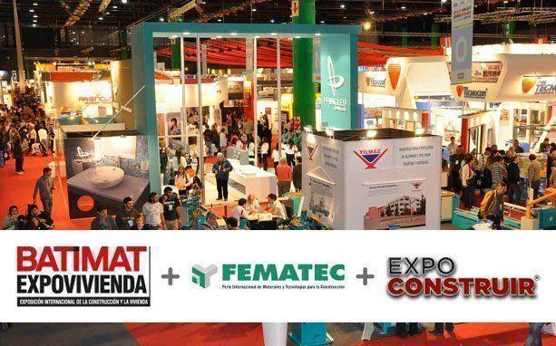 ARQA - Batimat, Fematec, Expo Construir