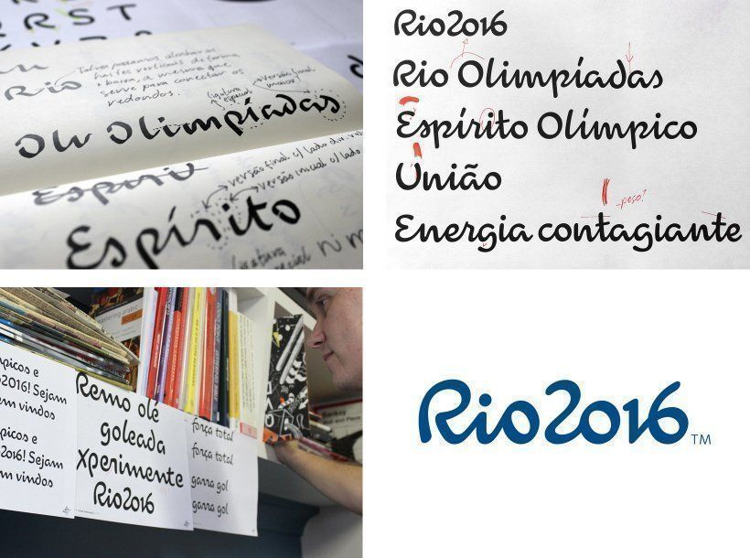 ARQA - How The 2016 Olympic Logo and Font were Created