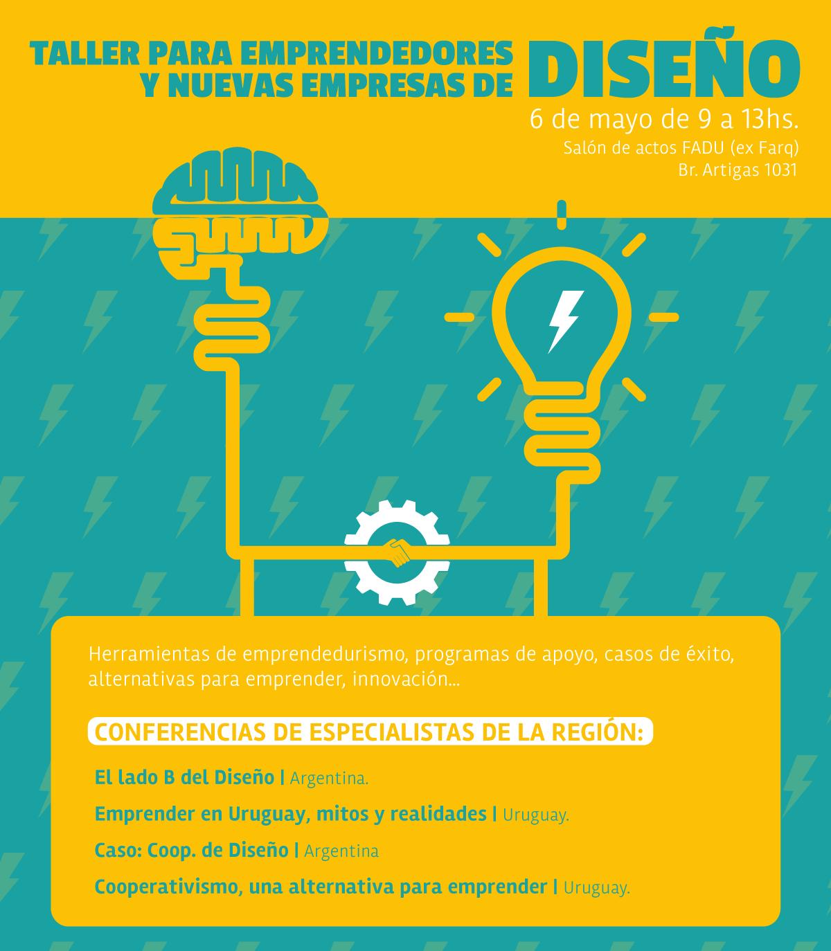Taller para emprendedores y nuevas empresas de Diseño