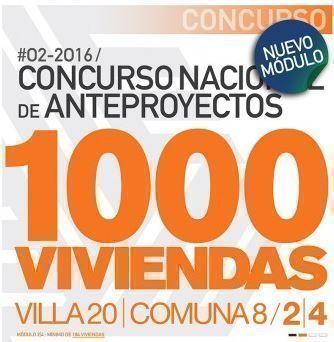 Ganadores Concurso Nacional de Anteproyectos Viviendas Sociales Villa 20, Concurso Nº 2