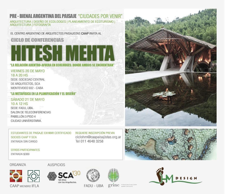 CAAP – Ciclo de Conferencias: Hitesh Mehta