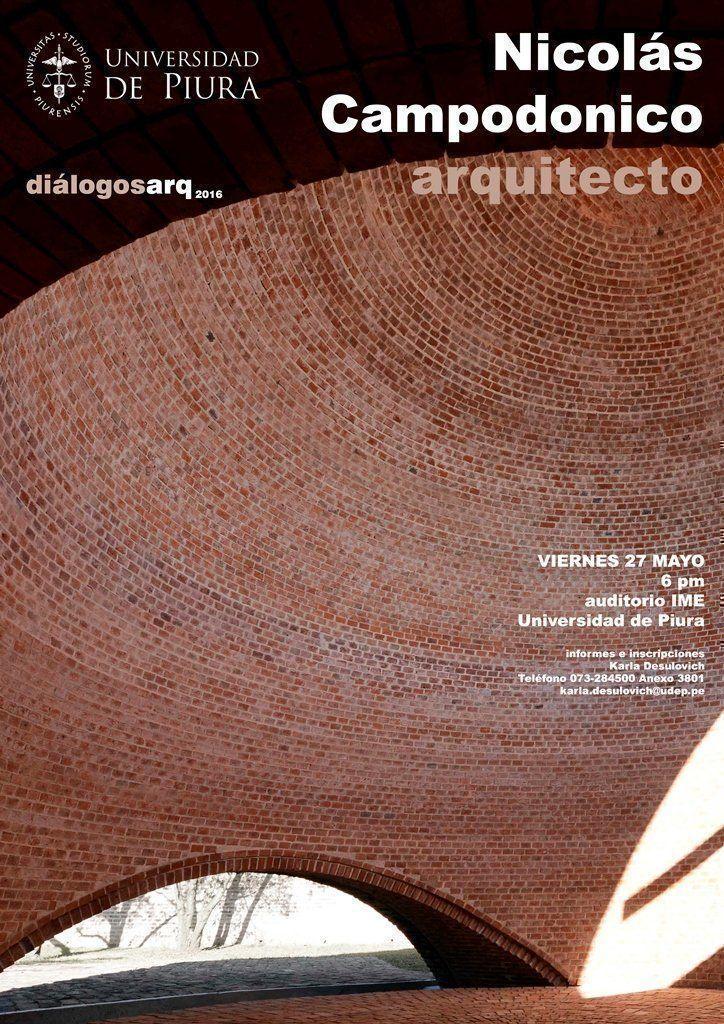 Diálogosarq2016, Nicolás Campodonico