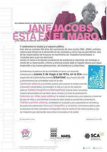 El MARQ celebra los 100 años de Jane Jacobs