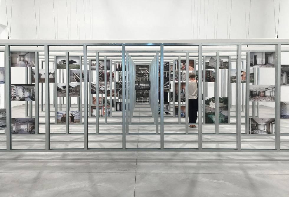 Pabellón de España en la XV Bienal de Venecia