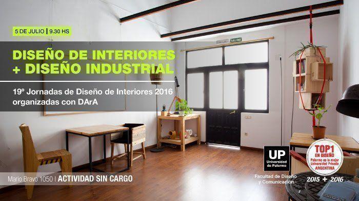 19º Jornadas de Diseño de Interiores 2016 organizadas por DArA