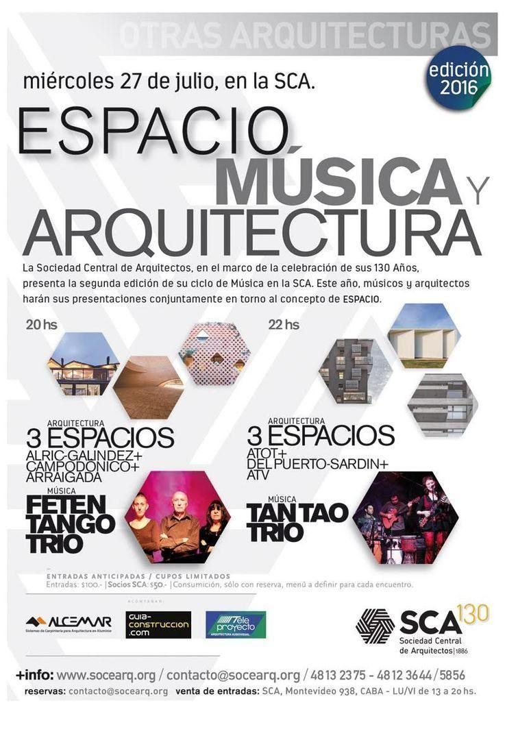 Espacio, música y arquitectura en la SCA