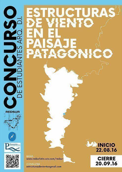 """Concurso Internacional: """"Estructuras de viento en el paisaje patagónico"""""""
