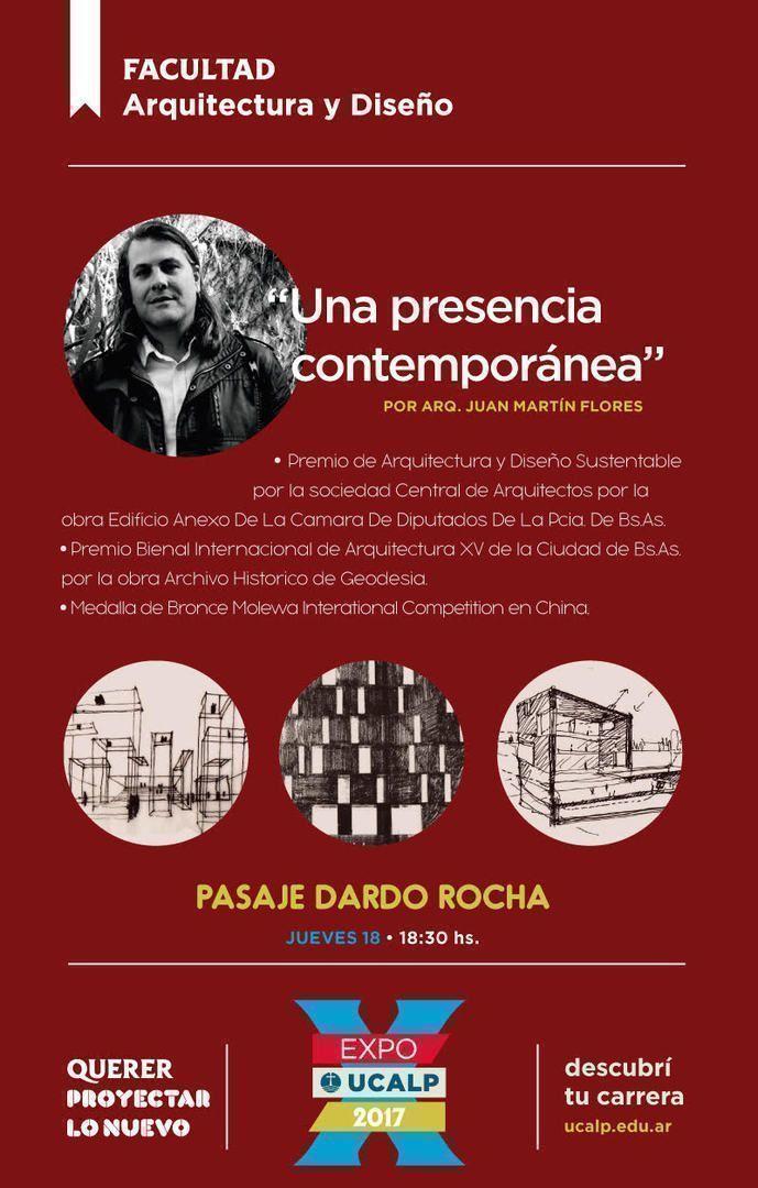 """Conferencia Juan Martín Flores: """"Una presencia contemporánea"""""""