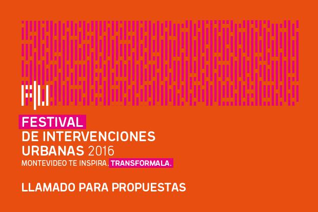 Festival de Intervenciones Urbanas, convocatoria