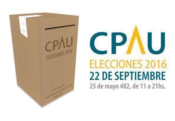 Elecciones CPAU 2016, resultados