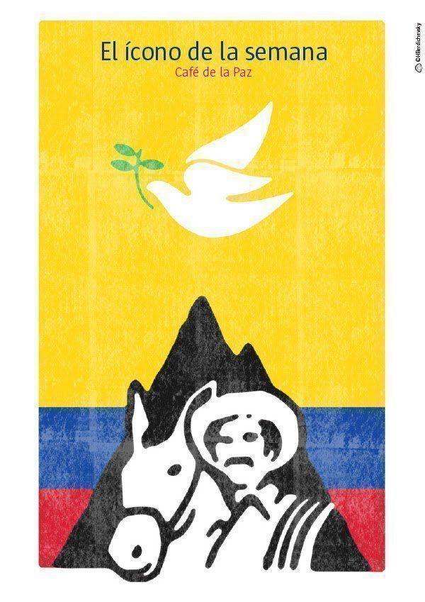 Café de la paz, El ícono de la semana