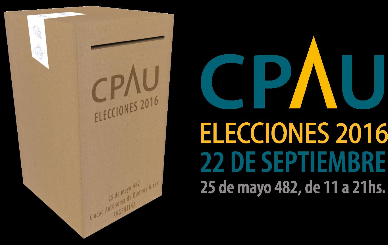 Elecciones CPAU 2016