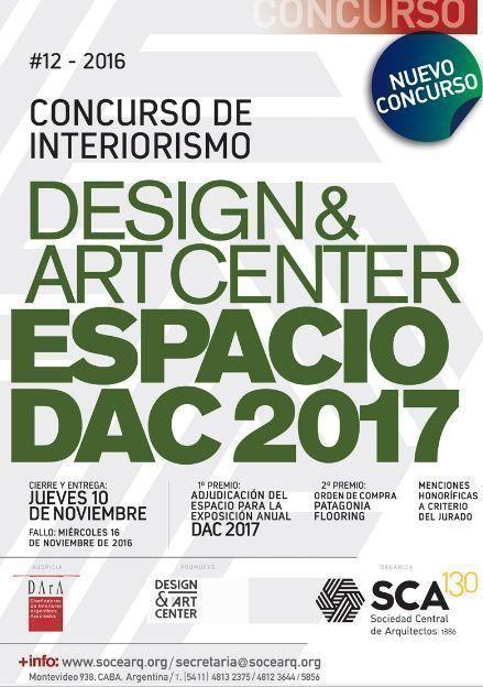 Concurso de Interiorismo Espacio DAC 2017, Design & Art Center