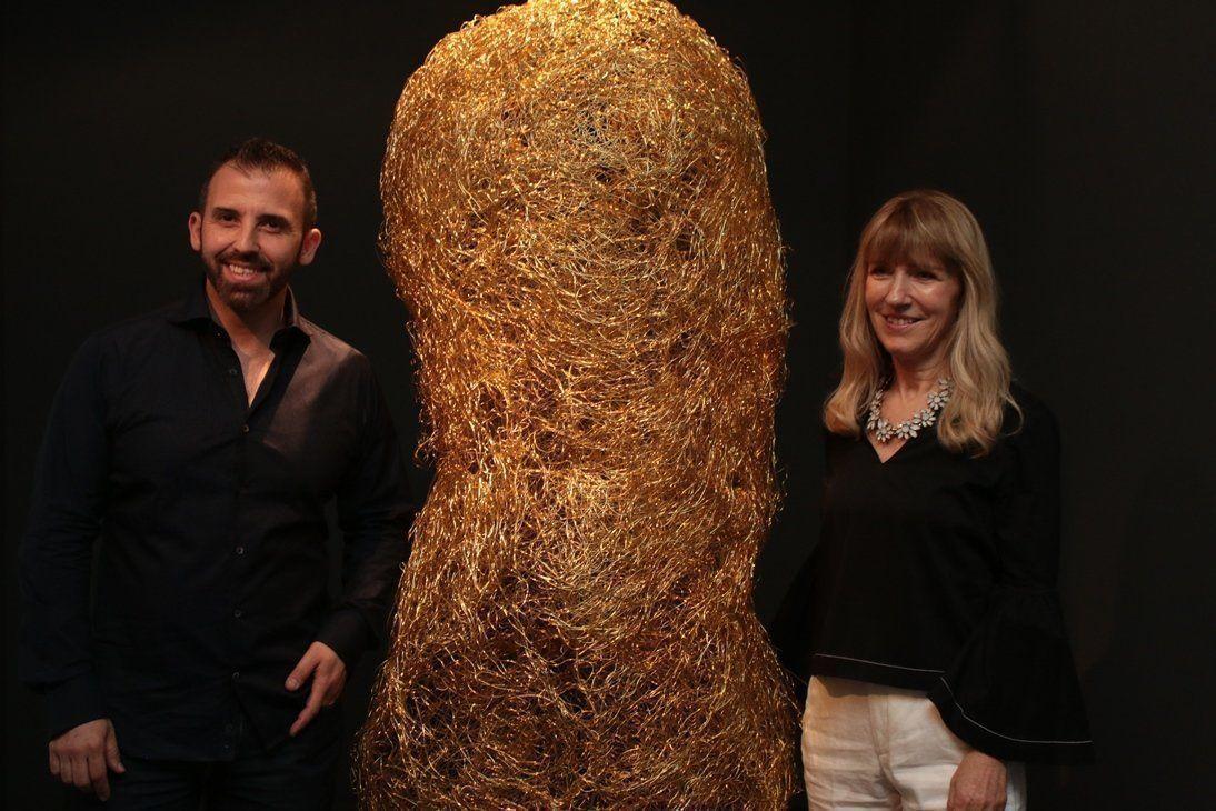 "Muestra de arte GOLUBINSKY- TOLEDO: ""Algo estarán tramando"""