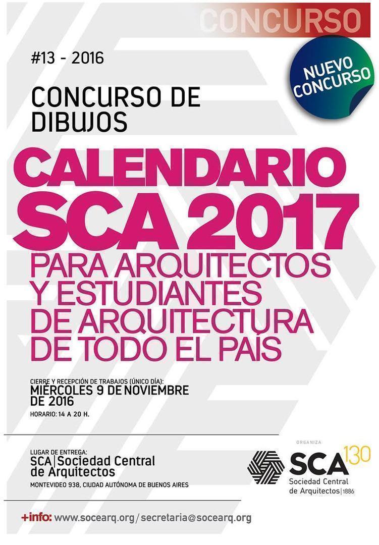 Concurso de Dibujos para el Calendario SCA 2017