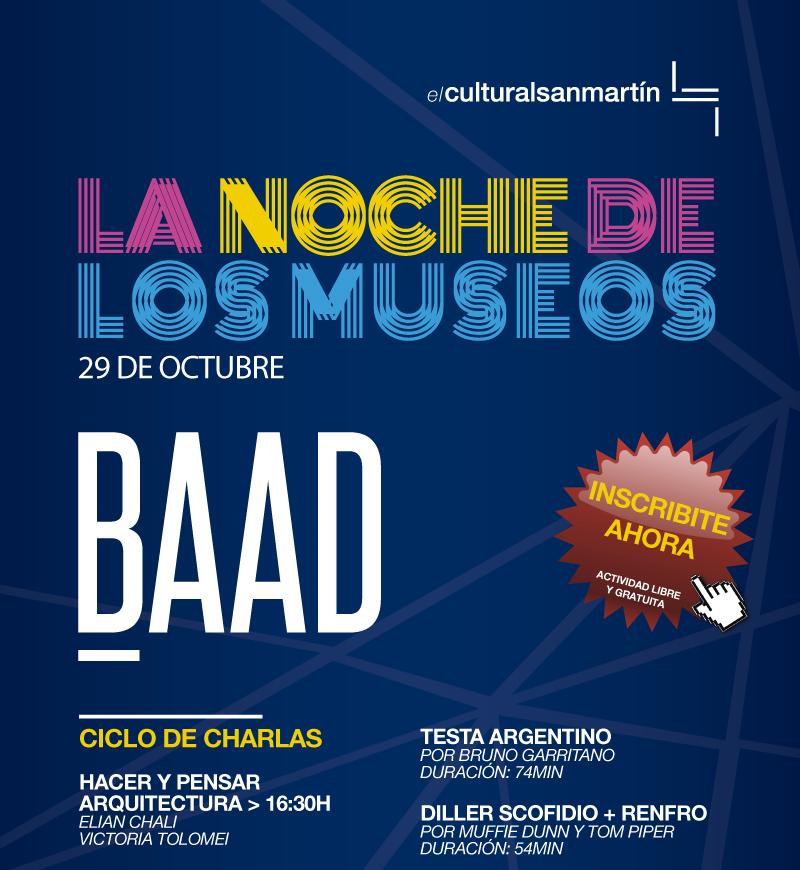 Segunda edición del Festival BAAD en el Centro Cultural San Martín