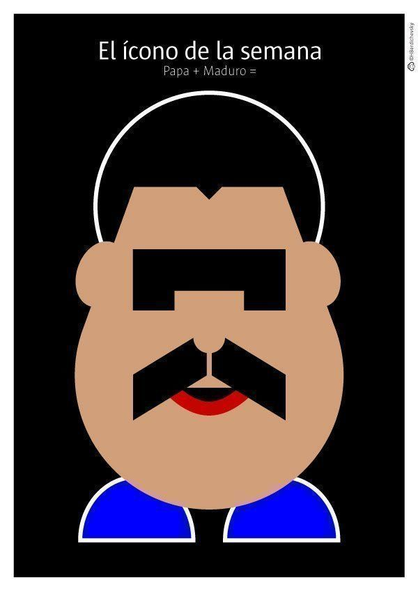 Papa + Maduro = El ícono de la semana