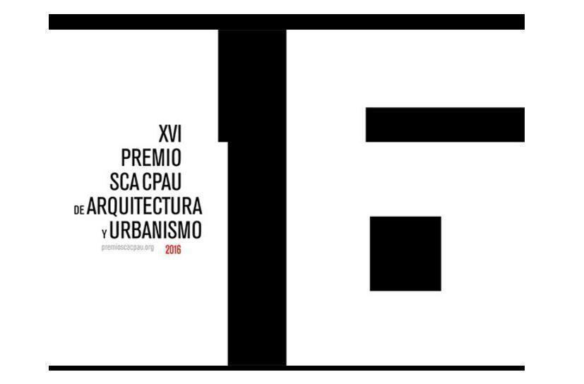 Premio SCA CPAU de Arquitectura y Urbanismo 2016