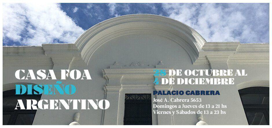 Se realizó la entrega de premios de la 33° edición Casa Foa 2016 diseño argentino en Palacio Cabrera