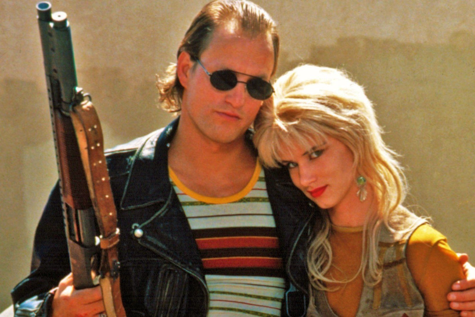 NATURAL BORN KILLERS, from left: Juliette Lewis, Woody Harrelson, 1994. ©Warner Bros./Courtesy Everett Collection