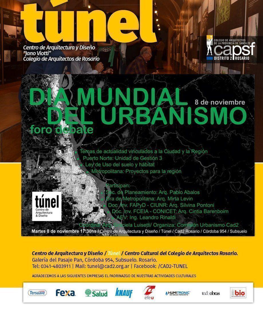 Foro Debate: Día Mundial del Urbanismo