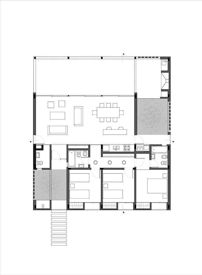 Casa av arqa - Casas planta baja ...