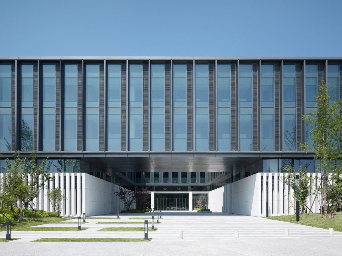 Huawei technological factory buildings arqa - Gmp architektur ...