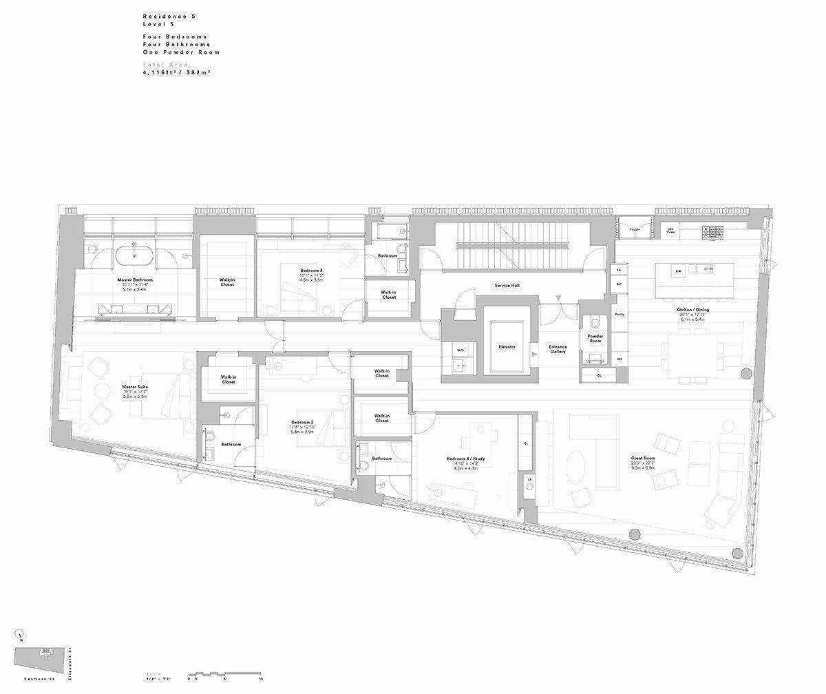 152 elizabeth street condominiums arqa for 111 elizabeth street floor plan