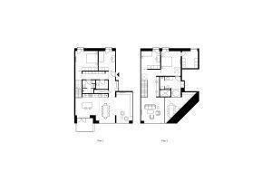 Drawings by Vilhelm Lauritzen Architects & COBE