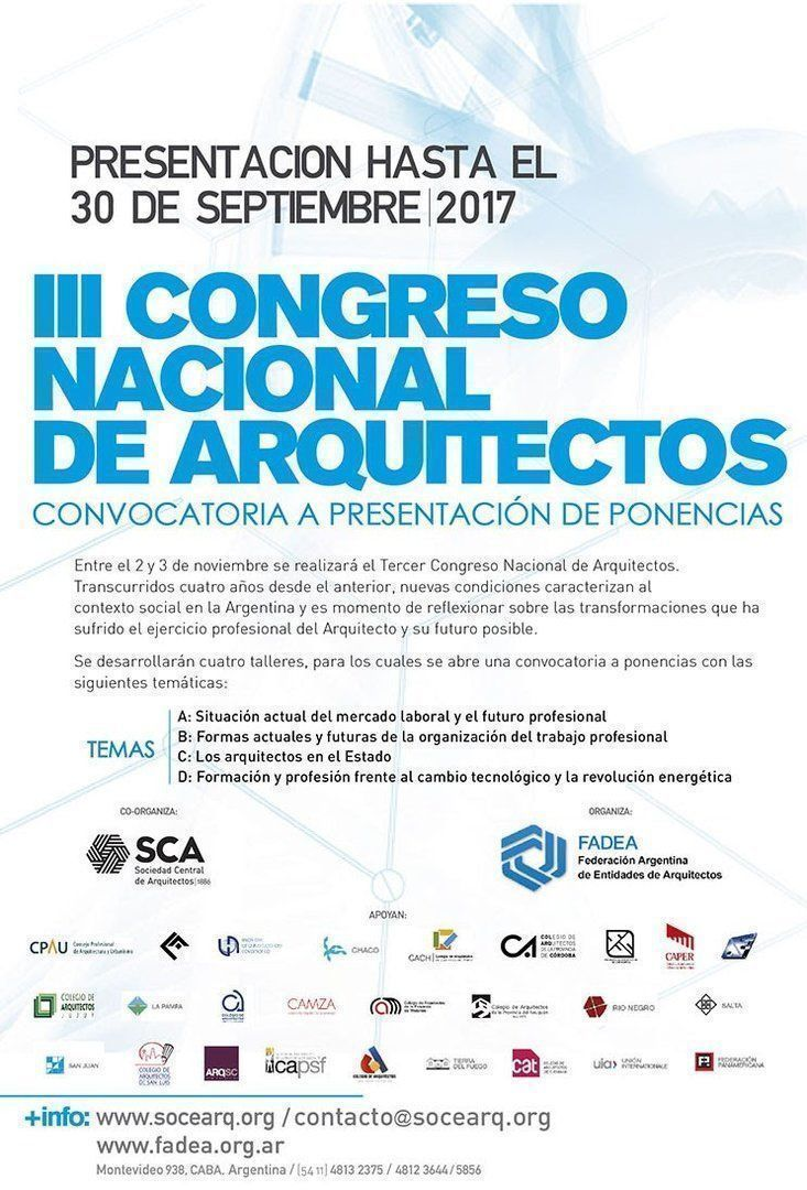 Congreso Nacional de Arquitectos